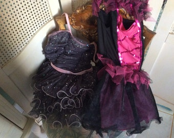 Vintage little Girls Ballet Tutus, Costumes, 2,  size 3-4 and 5