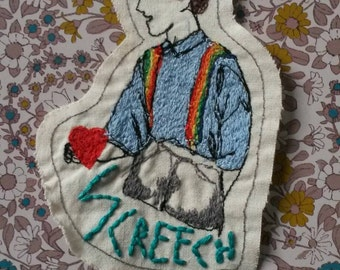 Screech Saved by the Bell jacket patch