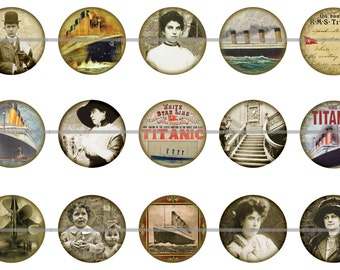 Titanic Magnets Pins Ship of Dreams Party Favors Fridge Magnets Gift Sets Titanic