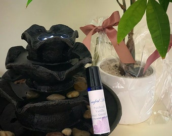 Comfort/relaxation essential oil roll on blend