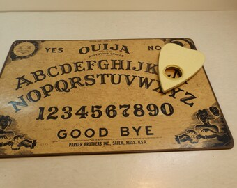 1980s Ouija Board William Fuld Talking Board by Parker Brothers Halloween Gift