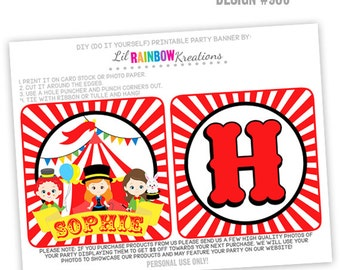 PRTYB-906: Circus Party Banner