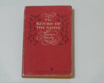 Thomas Hardy - The Return of the Native - English Literature - Washington Square Press 1959 - 19th Century Novel - Antique Softcover Book