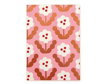 Blossom Gold Planner - White Petal