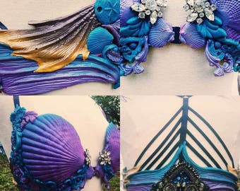 Custom Silicone Mermaid Bra