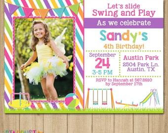 Playground birthday invitation park birthday invitation playground birthday invitation playground invitation playground birhtday park birthday park invitation printable invitation filmwisefo