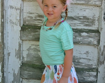 Light as a  Feather  Skirt (18 mos, 2T, 3T, 4T, 5, 6, 7, 8, 10, 12)