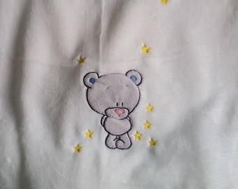 Blanket fleece baby personalized