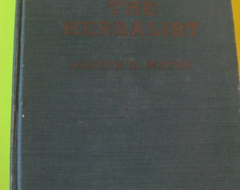 The Herbalist - Hardcover Book, 1960
