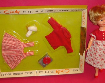 Cragstan Penny Brite Look Alike Miss Cindy Doll with Mint in Box Outfit