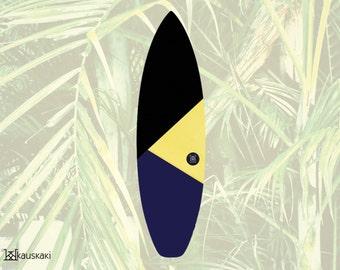 Toucan Warrior   Surfboard Sock   Cold Water