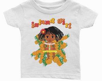 Island Girl! Toddler Tee