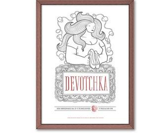Devotchka Poster