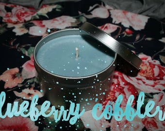 Blueberry Cobbler Homemade Soy Wax Candle