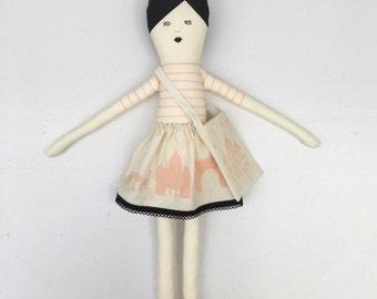 I love Paris doll vintage pink diy kit