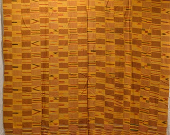 """Gold Weaving with Intricate Patterns 119"""" x 64"""""""