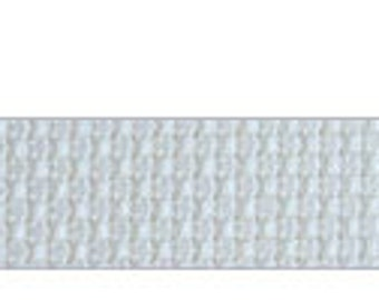 16 count white Aida - Cut Piece 75 x 45 cm.  Use for cross stitch embroidery fabrics.  Brand new piece, large size cut from the roll.