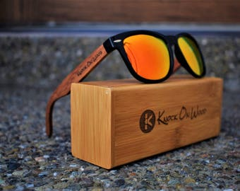 Vale Wood - Polarized Bamboo Sunglasses for Men and Women