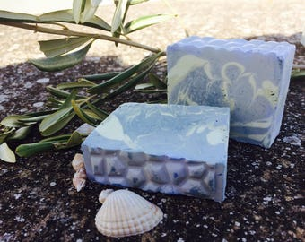 Aquamarine Olive oil Two-pack soap (2 pieces)