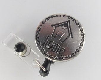 Home Badge Reel, id badge holder, retractable badge reel