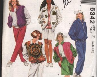 McCalls 6342 UNCUT Misses jacket, pants,  shorts. ID606