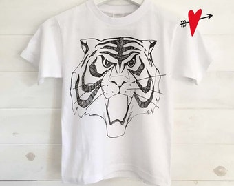 Male Tiger ... BABY T-SHIRT
