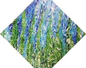 "Seaweed (2017) 10""x10"" Acrylic Painting"