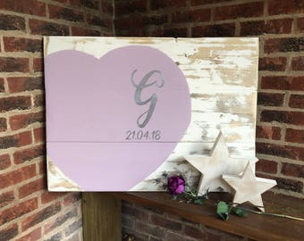 Lilac Guest book - Rustic Guest Book - Guest book - Alternative Guest Book - guest book ideas - Guest Book