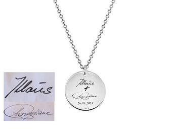 Necklace with engraving, gift for you