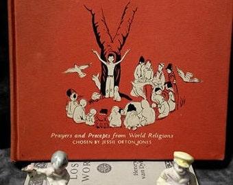 This Is The Way by Jessie Orton Jones/ First Edition/ Vintage Children's Book/ Children's Book of World Religions/ Elizabeth Orton Jones