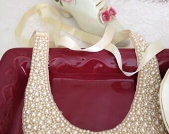 Vintage Pearl Wedding Collar