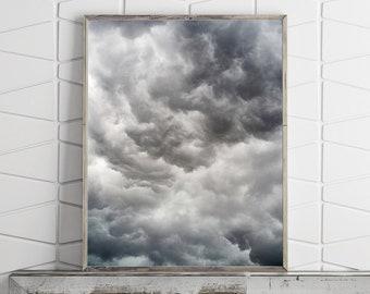 Cloud Print Large Wall Art Prints Abstract Wall Art Photography Prints Abstract Print Printable Wall Art Downloadable Prints Digital Prints