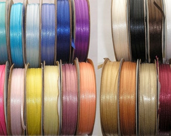 Satin Ribbon Necklace Upgrade - Choice of 25 Colors - 2 New Colors