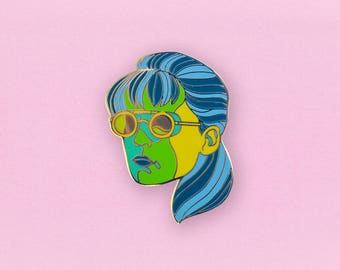 Sarah Connor Terminator  Enamel Pin - Sci-fi movie lapel Pin