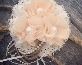 Flower girl wedding halo/comb
