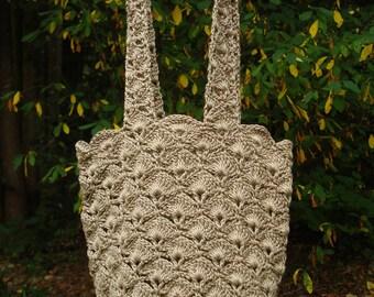 Fan Stitch Bag - PA-128a - Crochet Pattern PDF