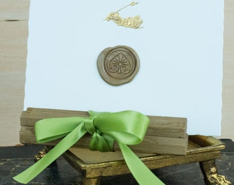 All Natural Sealing Wax Sticks - Set of 4 in Gold