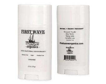 First Wave Natural Deodorant 100% Organic