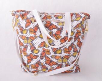 Weekender Tote - Monarch Butterfly
