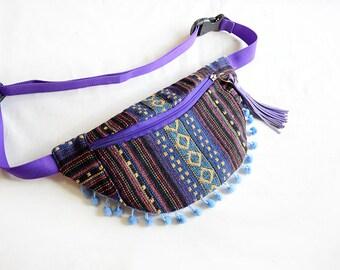 Fanny pack dot ethnic/fanny pack/Hip Bag/belt bag/bum bag/fanny pack festival/crossbody bag/waist bag/pocket bag/BUY 3 GET 1 FREE