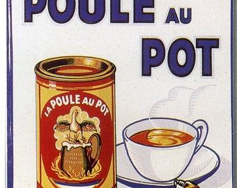 Le Poule au Pot French Poster Print
