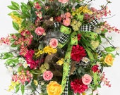 Spring Wreath for Front D...