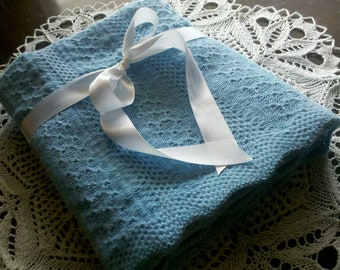Instant Download - Pattern for Machine Knit Tuck Baby Blanket