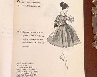 1962 Fashion Buyers Bridesmaid Dress Booklet