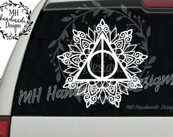 Harry Potter - Always Mandala Decal