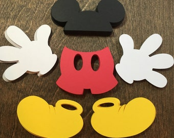 Mickey Mouse Birthday Decorations | Mickey Confetti | Mickey Mouse | Mickey Party | Mickey Mouse Party | Mickey Party | Confetti | Mickey