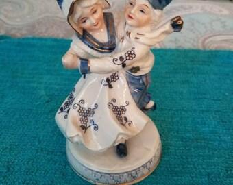 KPM Dancing Couples  Porcelain Figurine set of 2