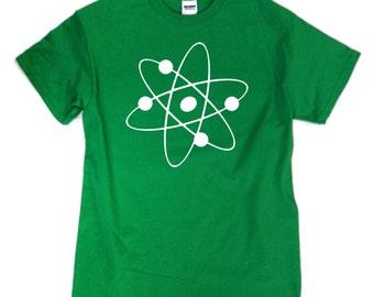S - 2XL > Big Bang Theory inspired T-Shirt > ATOM