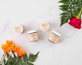 Rose Water and Orange Blossom cream -- hydrating face cream