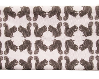 squirrel zippered pouch